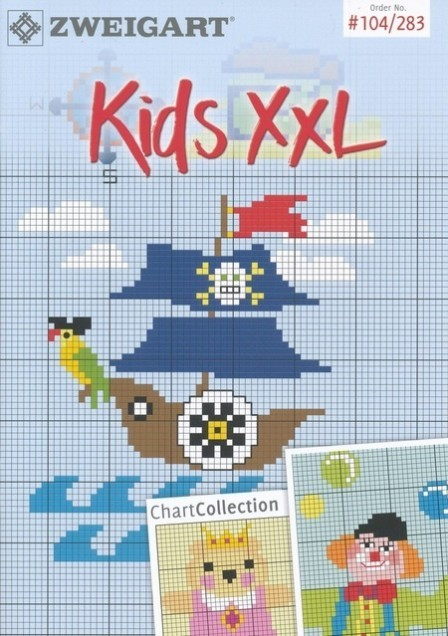 Zweigart Stickidee No 283 Kids XXL